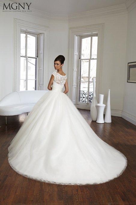 Suknia ślubna MGNY 51012 - Kolekcja 2017