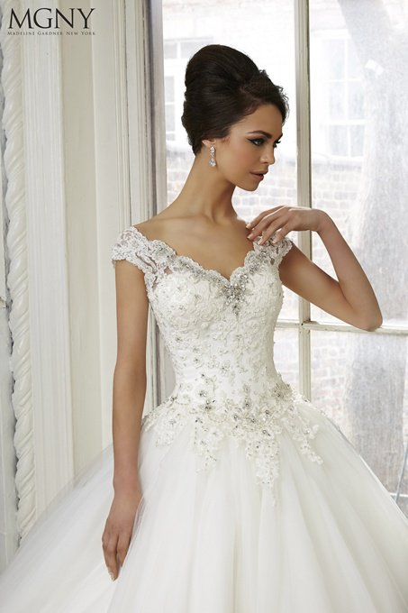 Suknia ślubna MGNY 51037 - Suknie ślubne