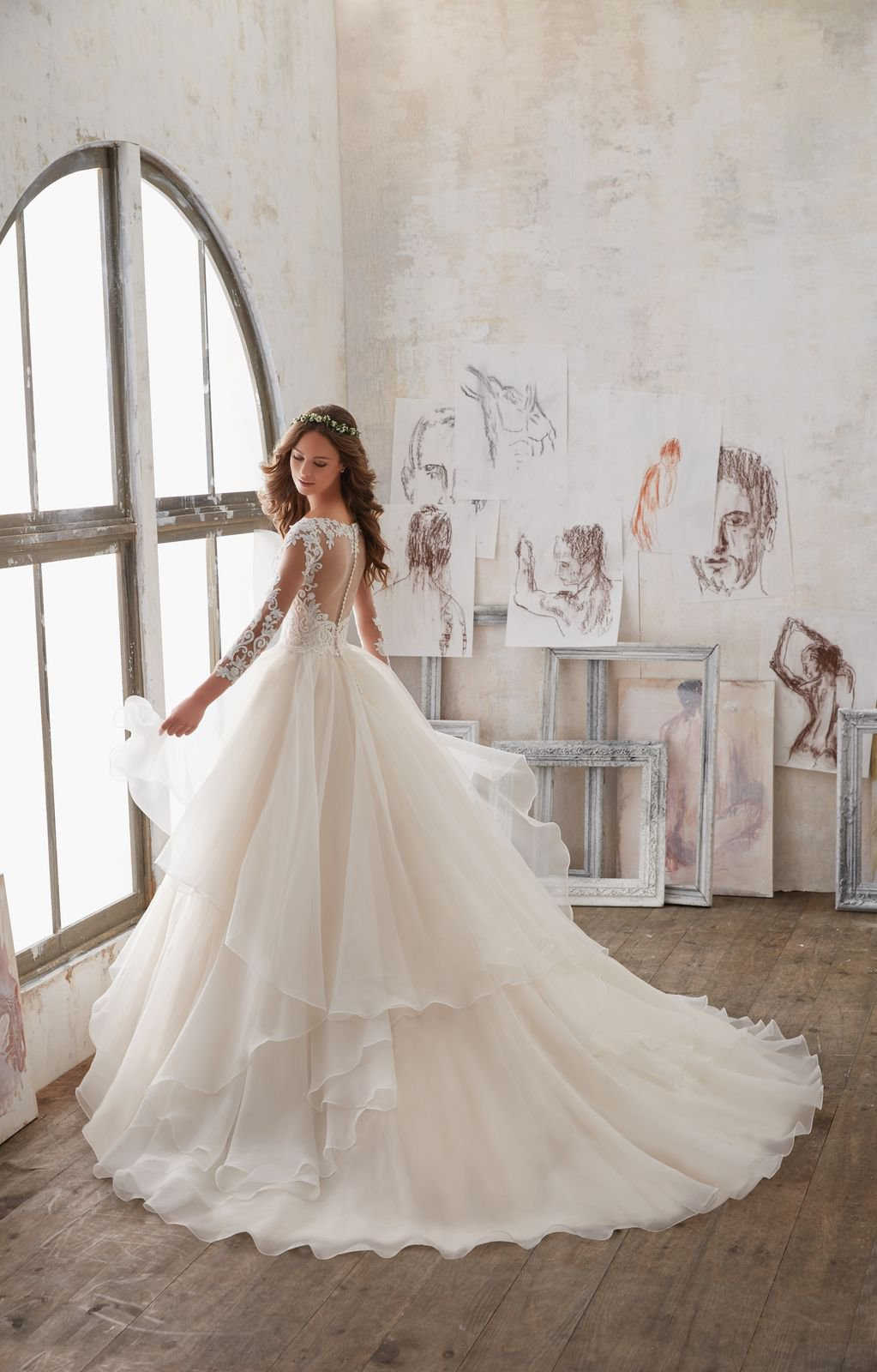 Mori Lee/MGNY – 5517 - Suknie ślubne