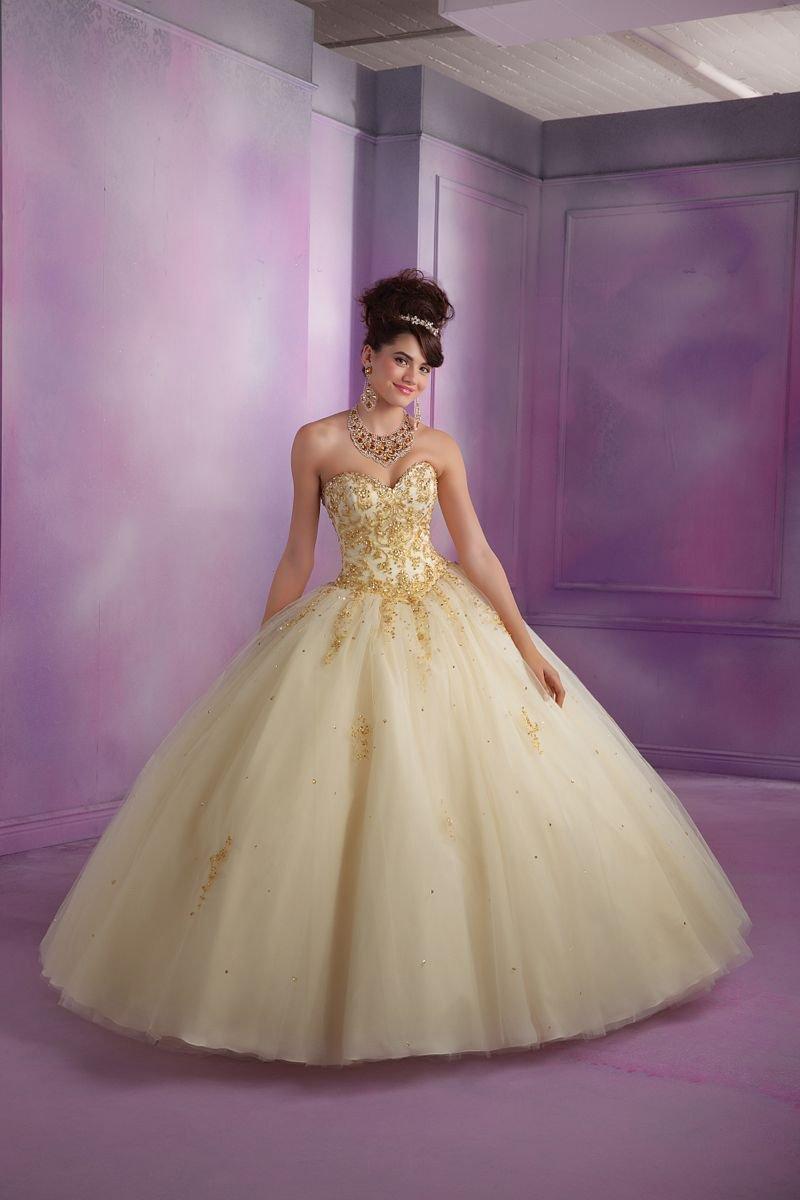 Suknia balowa Mori Lee 89015 - Różowe/fioletowe