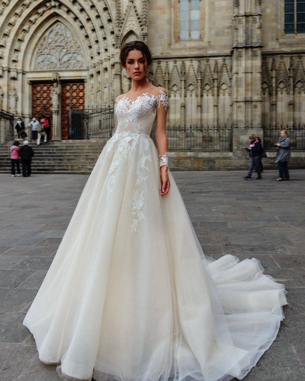 Suknia ślubna Nelson Dominiss - !NOWOŚCI! - 2018