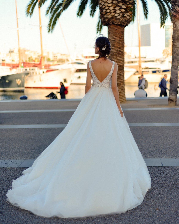 Suknia ślubna Nevada Dominiss - !NOWOŚCI! - 2018