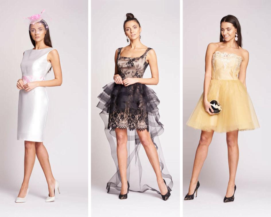 e86c870c2f Miłośniczki awangardowych wzorów i fasonów zainteresuje krótko-długa  sukienka z pięknym tiulem