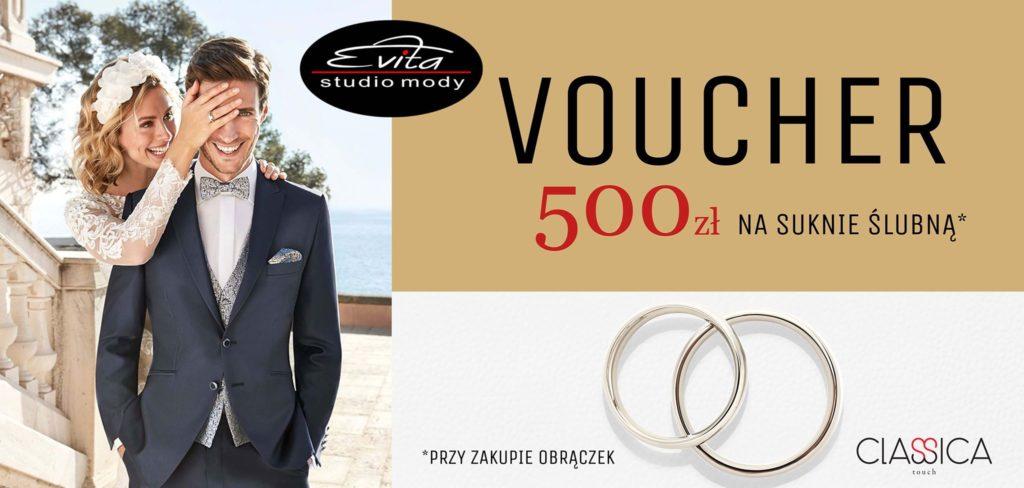 8b6c8efc1e2e3 ... aż 500zł upustu na ich personalizację oraz 500zł rabatu na suknię ślubną!  A do tego dodatkowe 300zł na zakupy dla gości weselnych. Brzmi dobrze,  prawda?