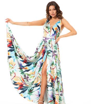 Suknia wieczorowa EGZOTYKA