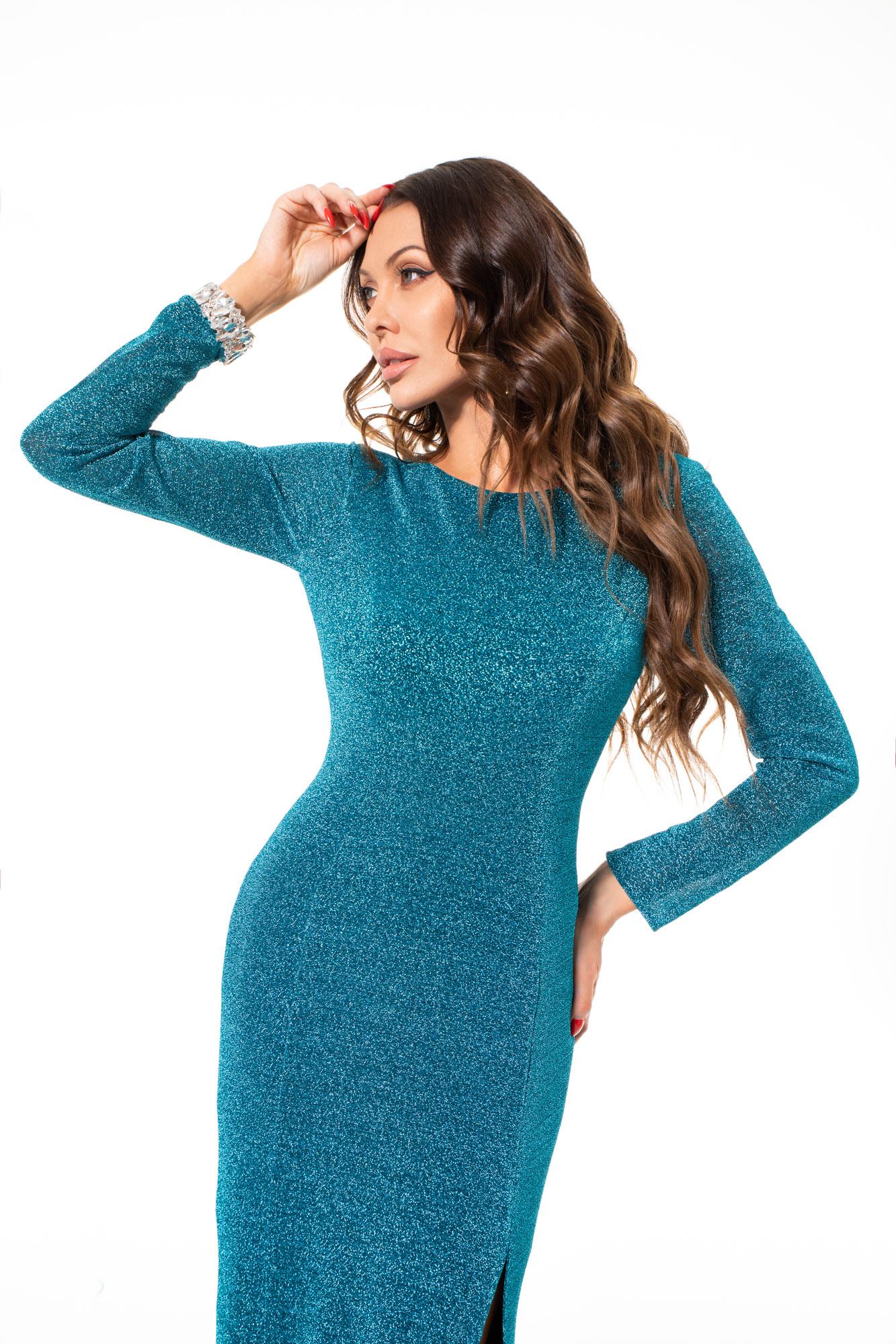 Suknia wieczorowa FANTAZJA - zielone