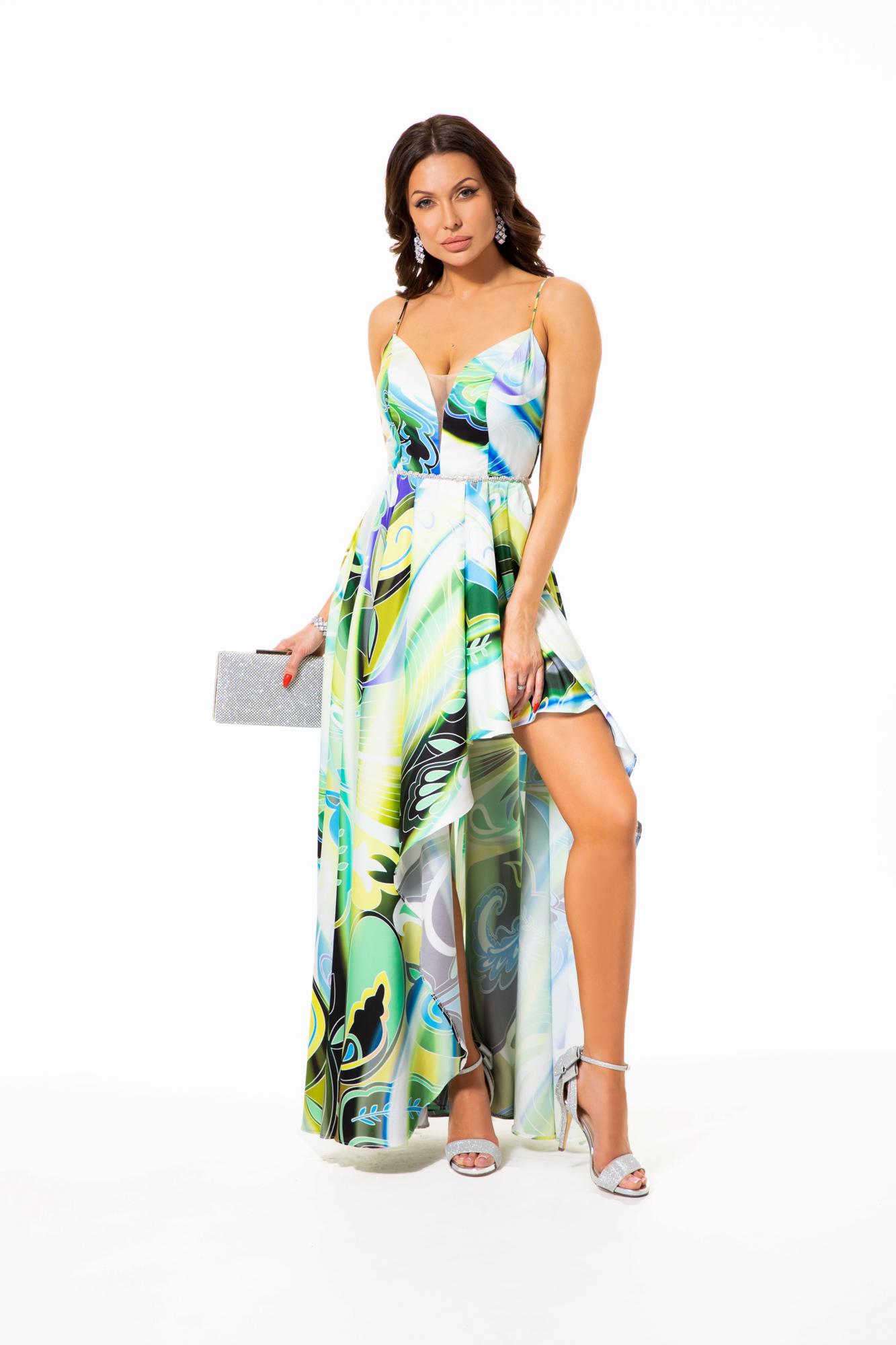 Suknia wieczorowa FLAWIA - kolorowe