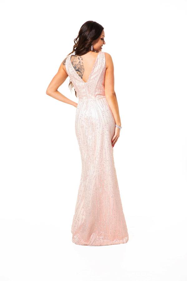 Suknia wieczorowa MARYLA brokat - Suknie dla Druhen