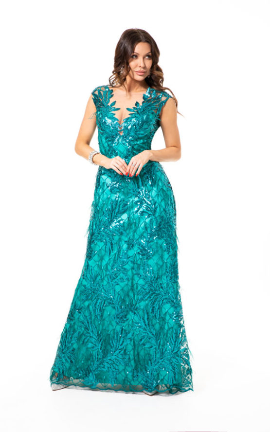 Suknia wieczorowa SZMARAGD